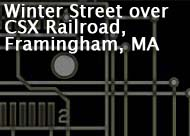 Winter Street over CSX Railroad, Framingham, MA